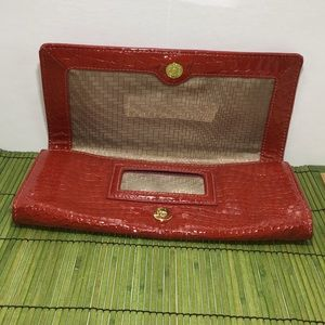 Cole Haan Rust colored Clutch